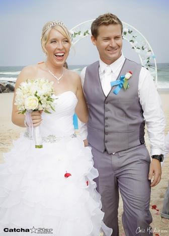 Lighthouse Beach Wedding, Ballina 2014