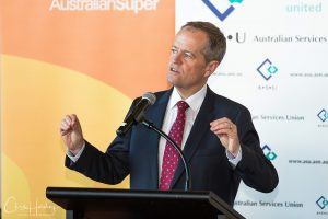 Bill Shorten Speaking at ASU National Conference Photography Tweed Heads