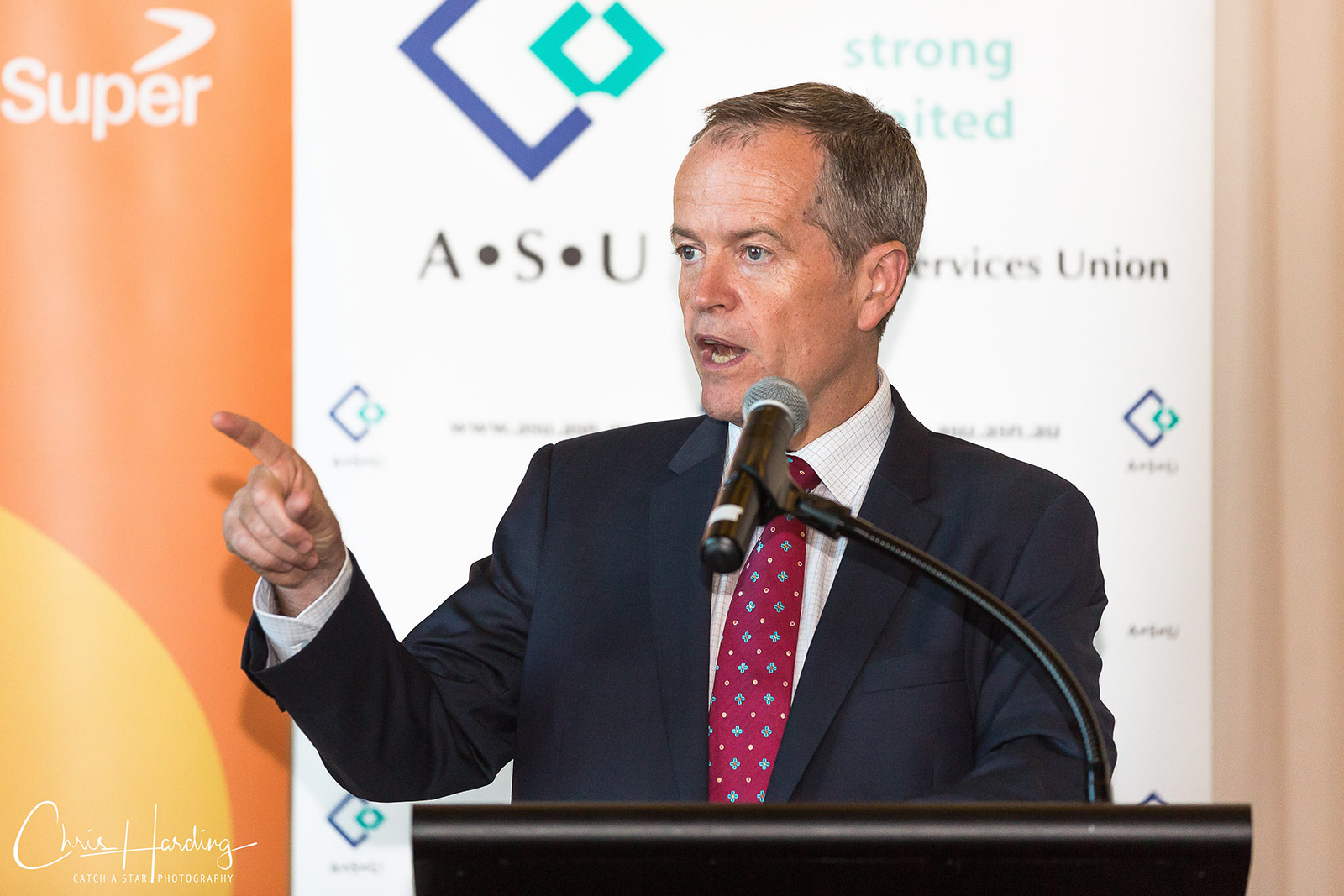Bill Shorten at ASU National Conference Photography Tweed Heads