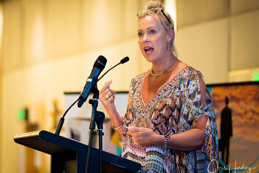 Lisa Curry Guest Speaker at NLGCSN Conference, Gold Coast QLD