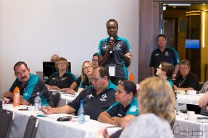Delegate Speaking at ASU National Conference Photography Tweed Heads