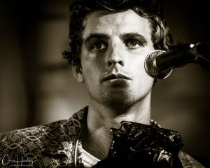 Mitch King Live Close Up Black and White