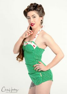 Swimsuit Pin-Up Model Photography