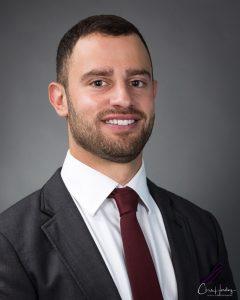 Male corporate portrait headshot