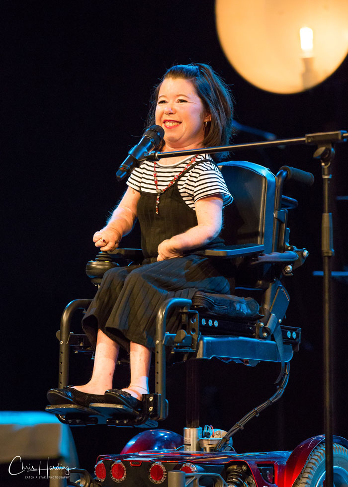 Night of Abilities Singing Performer