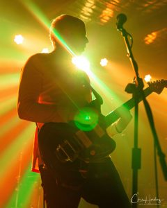 Guitarist Backlit