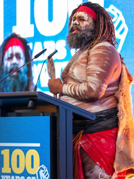 ETU Conference Welcome to Country