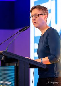 Sally McManus at Lecturn