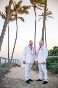 Groom and Groom Sheraton Mirage Beach