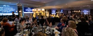 Wide Shot of Bob Downe at Awards Dinner