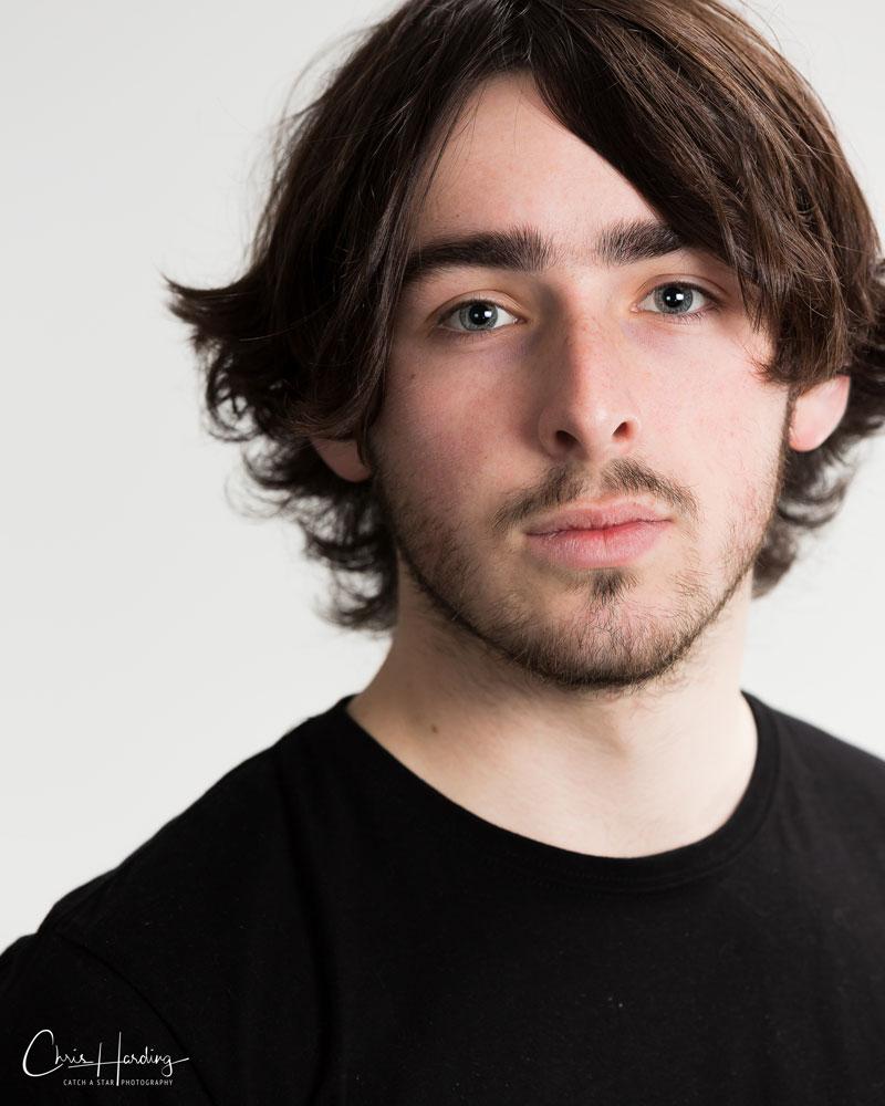 Male Actor Headshot