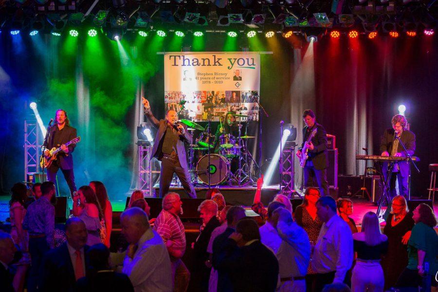 Band Playing at Awards Night
