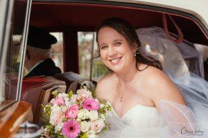 Bride Exiting Limo