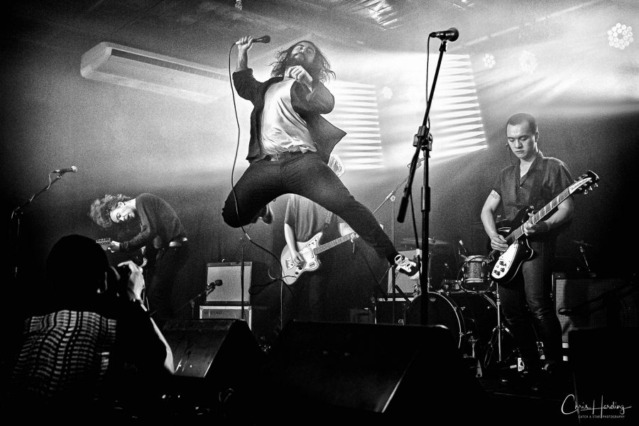 West Thebarton Band Singer Jump