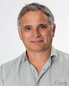Male Portrait White Background
