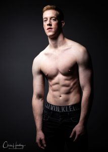 Male Model with No Shirt On
