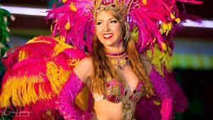 Salsa Dancer in Costume