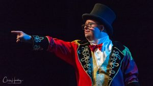 Theatrical Performer on Stage